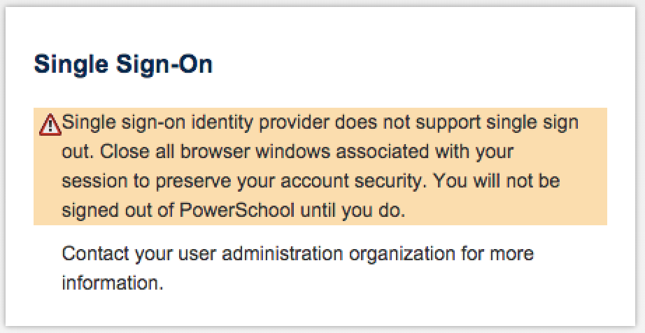 browser logout